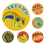 AVERY 69605 MERIT STICKERS AUSSIE ART PACK 96
