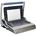 FELLOWES GALAXY 500 MANUAL BINDING MACHINE PLASTIC COMB GREY