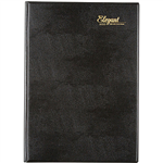 CUMBERLAND 2022 ELEGANT APPOINTMENT DIARY DAY TO PAGE 15 MINUTE A4 BLACK