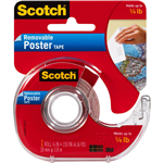 SCOTCH 109 POSTER MOUNTING TAPE REMOVABLE 19MM X 38M CLEAR