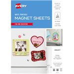 AVERY 71021 C9415 INSPIRED FRIDGE MAGNET A4 3 SHEETS