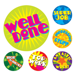 AVERY 69607 MERIT STICKERS BRIGHT PACK 96