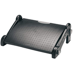 KENSINGTON ADJUSTABLE FOOT REST BLACK