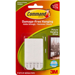 COMMAND PICTURE HANGING INTERLOCKING FASTENERS MEDIUM PACK 4