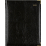 CUMBERLAND 2022 CORPORATE APPOINTMENT DIARY DAY TO PAGE 1 HOUR 260 X 190MM BLACK