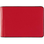 ACCENT BUSINESS CARD HOLDER 24 SLOT RED