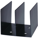 ESSELTE SWS MOULDED BOOK RACK BLACK