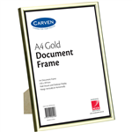 CARVEN DOCUMENT FRAME A4 GOLD