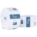 LIVI ESSENTIALS JUNIOR JUMBO TOILET ROLL EMBOSSED 2 PLY 120M CARTON 16