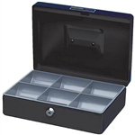 ESSELTE CLASSIC CASH BOX 250 X 180 X 80MM SIZE 10 BLACK
