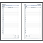 DEBDEN 2022 DAYPLANNER PERSONAL EDITION REFILL DAY TO PAGE