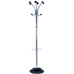 ALBA STILLY COAT RACK METALLIC GREY