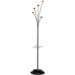 ALBA FESTIVAL COAT RACK METALLIC GREY