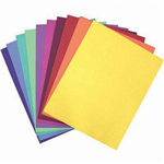 COLOURFUL DAYS COLOURBOARD 200GSM 510 X 640MM ASSORTED PACK 100