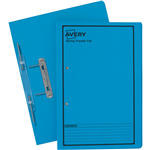 AVERY 86824 SPRING TRANSFER FILE FOOLSCAP BLUE