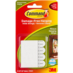 COMMAND PICTURE HANGING INTERLOCKING FASTENERS SMALL PACK 4
