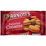 ARNOTTS ASSORTED CREAM BISCUITS 500GM