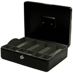 ESSELTE CLASSIC CASH BOX 300 X 230 X 90MM SIZE 12 BLACK