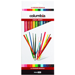 COLUMBIA COLOURSKETCH COLOURED PENCILS ASSORTED PACK 12