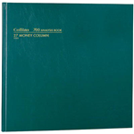 COLLINS 700 SERIES ANALYSIS BOOK 27 MONEY COLUMN 96 LEAF A35 GREEN