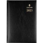 COLLINS 2021 STERLING DIARY DAY TO PAGE 1 HOUR A5 BLACK
