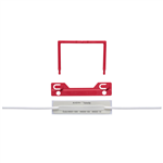 AVERY 44009R TUBECLIP RED BOX 100