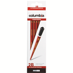 COLUMBIA COPPERPLATE HEXAGONAL PENCIL 2B BOX 20