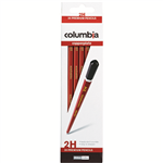 COLUMBIA COPPERPLATE HEXAGONAL PENCIL 2H BOX 20