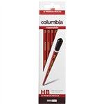 COLUMBIA COPPERPLATE HEXAGONAL PENCIL HB BOX 20