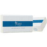 LIVI ESSENTIALS ULTRASLIM HAND TOWEL 2 PLY 150 SHEET 230 X 240MM CARTON 16