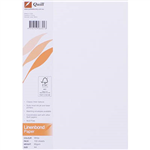 QUILL LINEN BOND PAPER A4 90GSM WHITE PACK 100