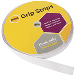 MARBIG GRIP STRIPS HOOK ONLY 25MM X 25M