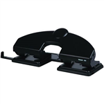 ESSELTE 4 HOLE PUNCH 25 SHEET BLACK