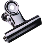 ESSELTE BULLDOG CLIP 63MM SILVER BOX 36