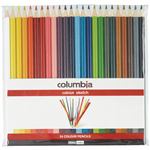 COLUMBIA COLOURSKETCH FULL LENGTH PENCIL ASSORTED WALLET 24