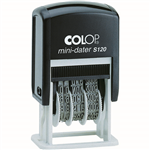 COLOP S120B MINI DATER STAMP 4MM BLACK