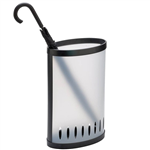 ALBA UMBRELLA BIN FROSTED WHITE