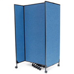 GREAT DIVIDER MODULAR SCREEN STARTER KIT 2438MM BLUE