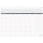 DEBDEN 2022 TABLE TOP PLANNER REFILL PAD MONTH TO VIEW 370 X 530MM