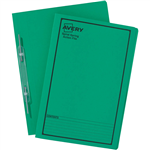 AVERY 85304 SPIRAL SPRING ACTION FILE FOOLSCAP GREEN