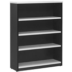 OXLEY BOOKCASE 4 SHELF 900 X 315 X 1200MM WHITEIRONSTONE