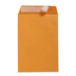 CUMBERLAND C4 ENVELOPES POCKET PLAINFACE STRIP SEAL 85GSM 324 X 229MM GOLD BOX 250