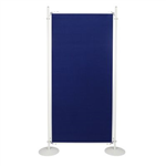 ESSELTE DISPLAY PANEL 900 X 1800MM BLUE