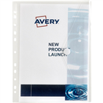 AVERY 47900 BINDER WALLET WITH BINDING STRIP A4 CLEAR