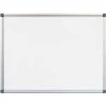 RAPIDLINE MAGNETIC ALUMINIUM FRAME COMMERCIAL WHITEBOARD 1200 X 900 W129  MPC3