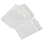 CUMBERLAND PRESS SEAL BAG 50 MICRON 102 X 150MM CLEAR PACK 100