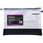 PROTEXT MESH POUCH WITH ZIPPER  NOTE POCKET A3