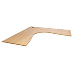 RAPID SPAN CORNER WORK TOP 1800 X 1800 X 700MM BEECH