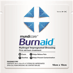BURNAID GEL DRESSING PAD 100 X 100MM