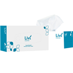 LIVI ESSENTIALS FACIAL TISSUES HYPOALLERGENIC 2 PLY 200 SHEET